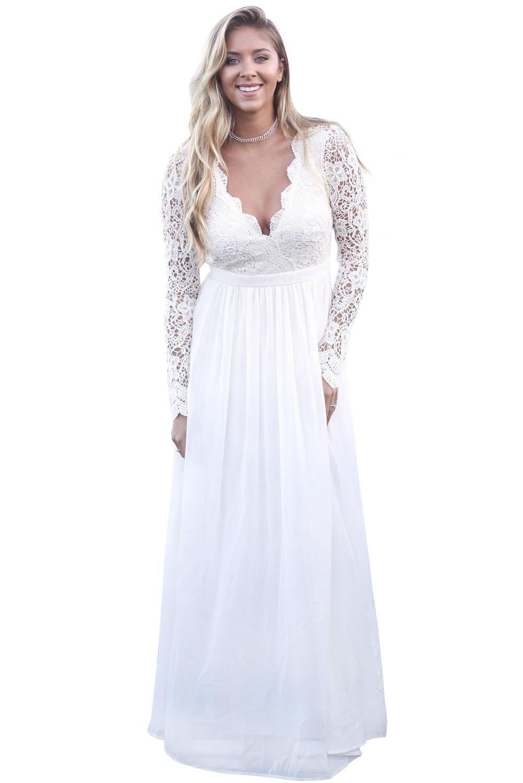 d2eec4b98 vestido blanco ideal para boda civil